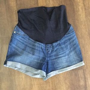 Women's Maternity Jean Shorts
